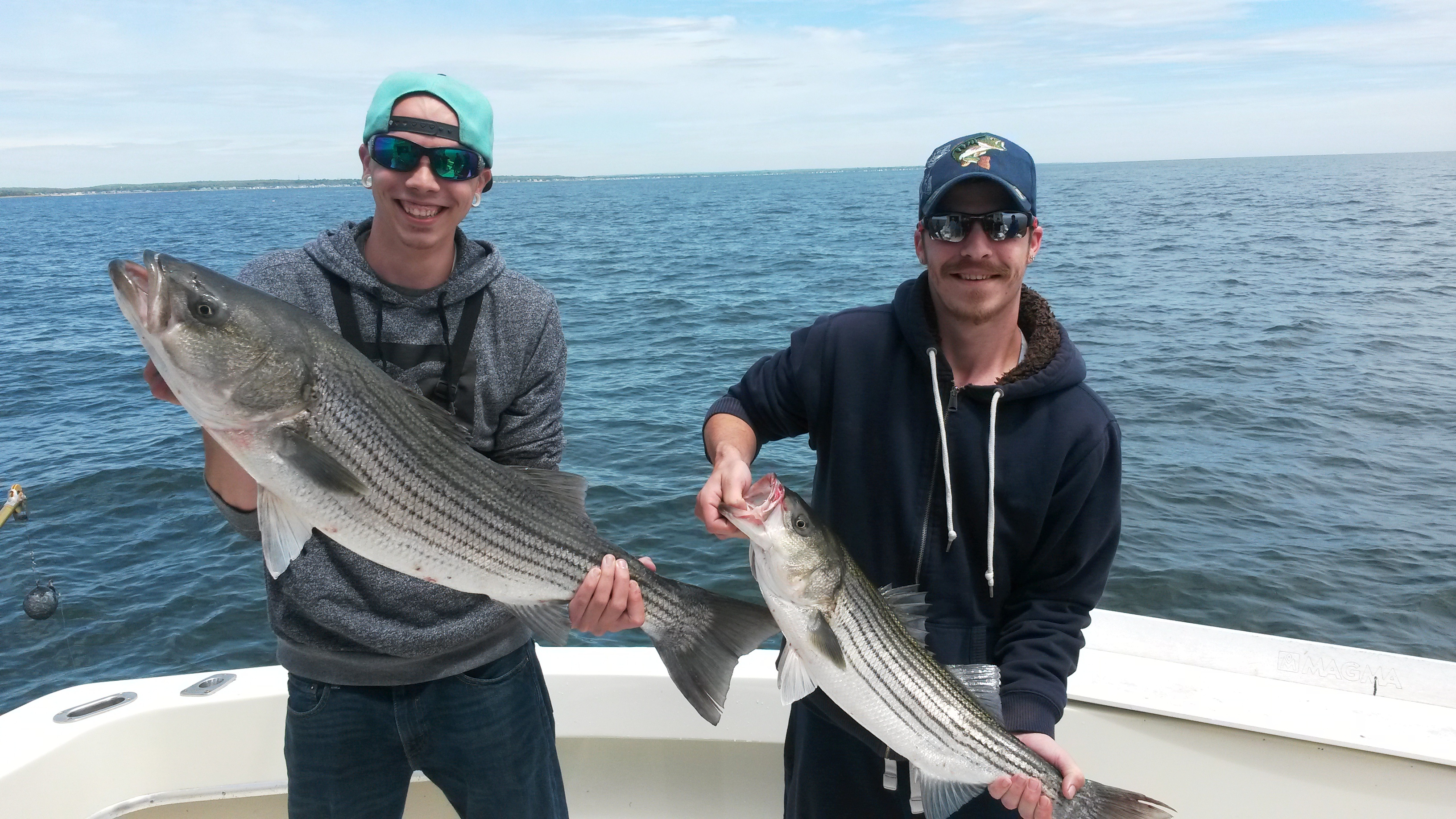 Weekly fishing report ct fishing charters for Fishing trips in ct