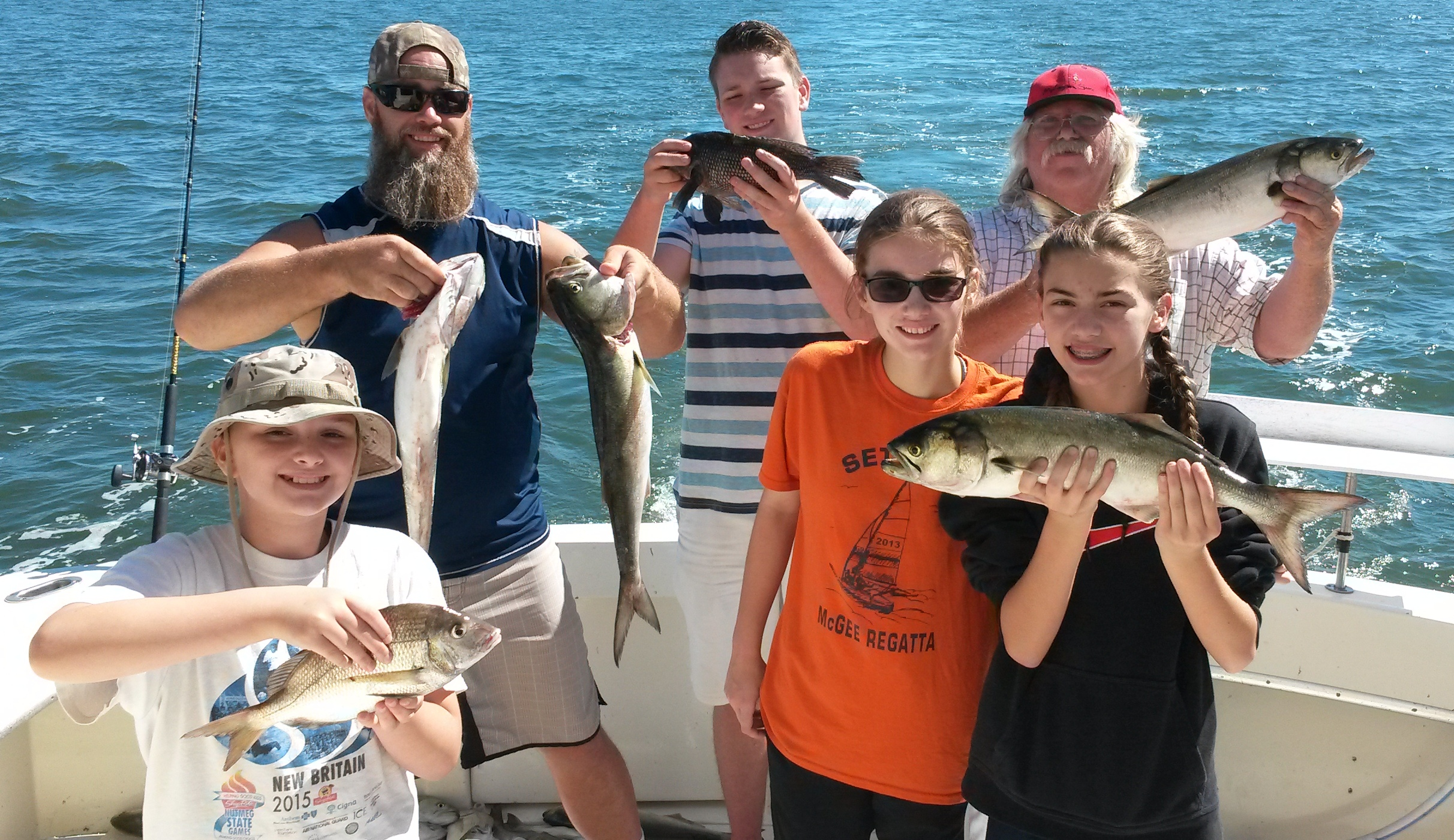 Connecticut fishing report 9 15 16 ct fishing charters for Fishing trips in ct